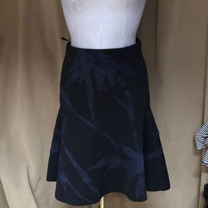 Scanlan Theodore as New black knit skirt suitM$495